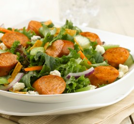 Buffalo-Chicken-Sausage-Salad