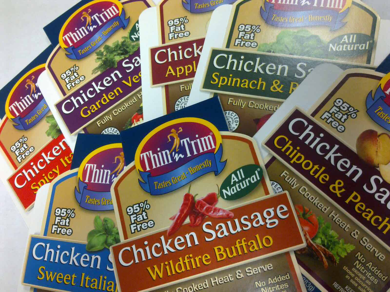 Thin 'n Trim Chicken Sausage Bands