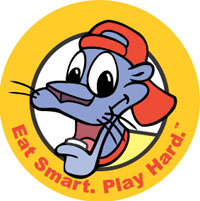 Eat Smart Play Hard logo