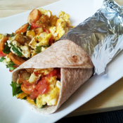 Thin 'n  Trim Buffalo Chicken Sausage Breakfast Burrito