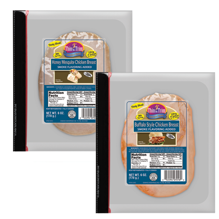 New Thin 'n Trim Pre-Cut Deli Chicken Breasts