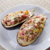 Ham-Stuffed Eggplant