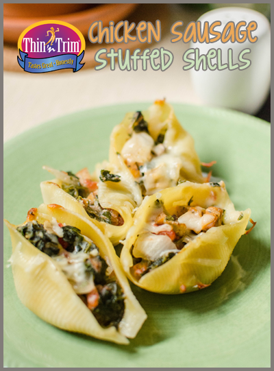 Thin 'n Trim Chicken Sausage Stuffed Shells