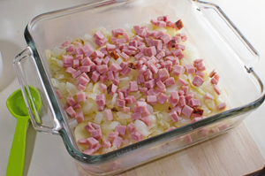 Potatoes & Ham Dish - Add Ham