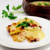Scalloped Potatoes & Ham Thumbnail