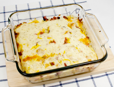 Potatoes & Ham Dish - After Oven
