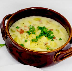 Potato & Ham Soup Thumbnail