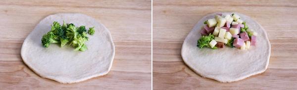 Ham Pockets - Dough 2
